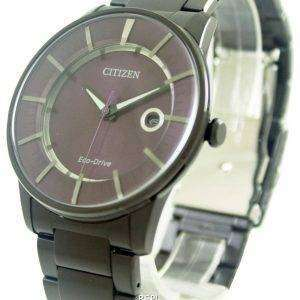 Citizen Eco-Drive Purple Dial AW1264-59W Mens Watch