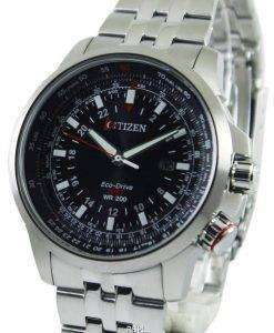Citizen Promaster Pilot Eco-Drive GMT 200M BJ7070-57E Mens Watch