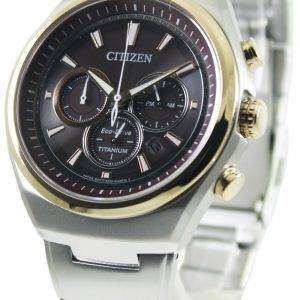 Citizen Eco-Drive Titanium Chronograph CA4024-53W Mens Watch
