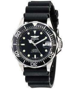 Invicta Pro Diver 200M Automatic Black Rubber INV9110/9110 Mens Watch
