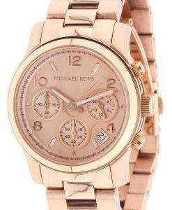 Michael Kors Rose Gold Runway Chronograph MK5128 Womens Watch