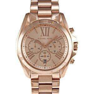 Michael Kors Bradshaw Chronograph Rose Gold-tone MK5503 Womens Watch