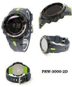 Casio Protrek Atomic Triple Sensor PRW-3000-2D PRW-3000-2 Mens Watch