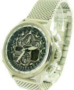 Citizen Navihawk A-T Eco-Drive Atomic JY8030-83E Mens Watch