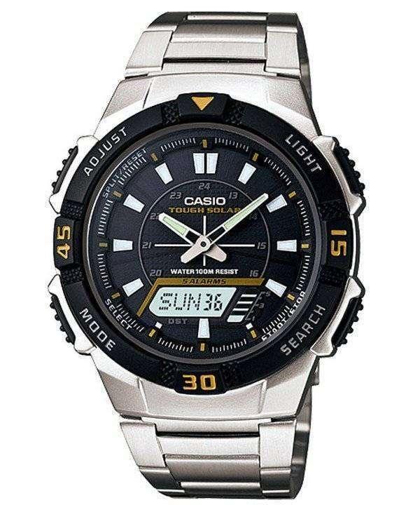 Casio Analog Digital Tough Solar AQ-S800WD-1EVDF Mens Watch