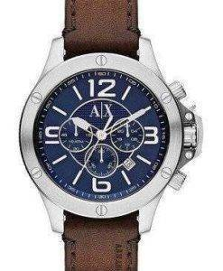 Armani Exchange Chronograph Blue Dial AX1505 Mens Watch