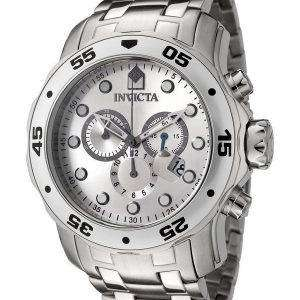 Invicta Pro-Diver Quartz Chronograph Silver Dial INV0071/0071 Mens Watch