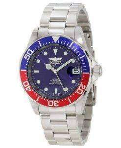 Invicta Pro Driver Automatic 300M Blue Dial INV5053/5053 Mens Watch