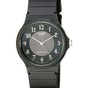 Casio Classic Analog Quartz Black Resin MQ-24-1B3LDF MQ-24-1B3L Mens Watch