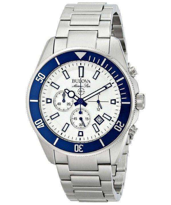 Bulova Marine Star Chronograph 98B204 Mens Watch
