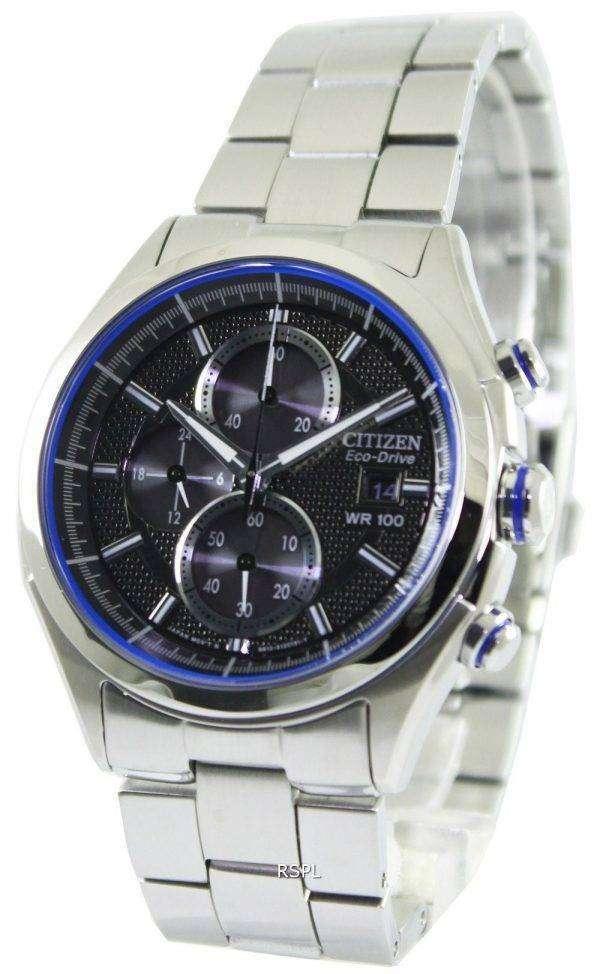 Citizen Eco-Drive HTM Chronograph CA0431-51E Mens Watch