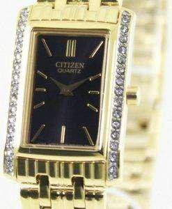 Citizen Quartz Swarovski Crystals EK1122-50E Womens Watch