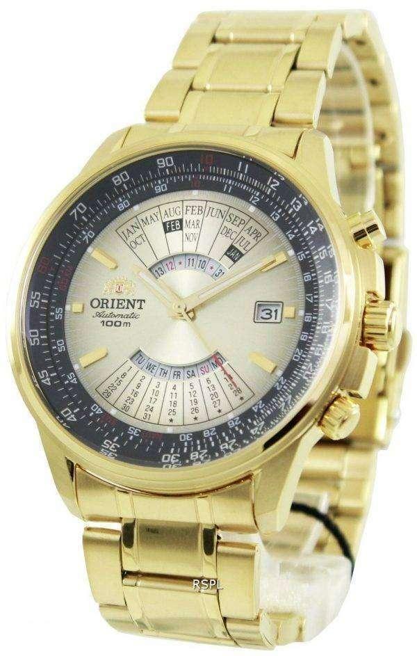 Orient Automatic 100M WR Perpetual Calendar FEU07004UX Mens Watch