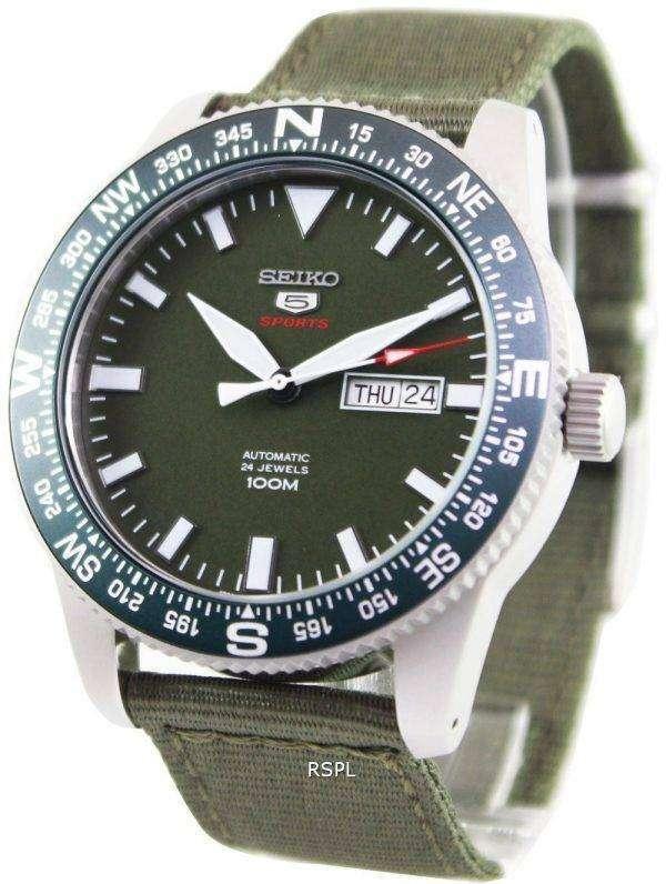 Seiko 5 Sports Automatic 24 Jewels 100M SRP663K1 SRP663K Mens Watch