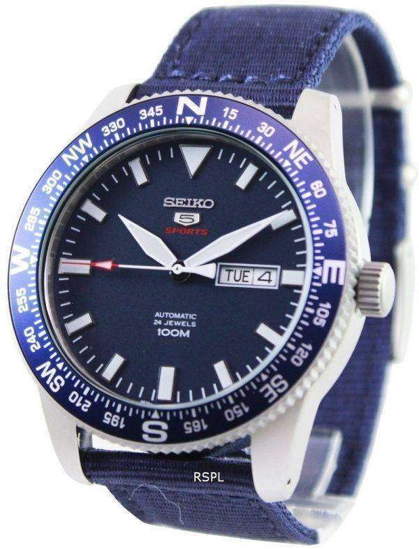 Seiko 5 Sports Automatic 24 Jewels 100M SRP665K1 SRP665K Mens Watch