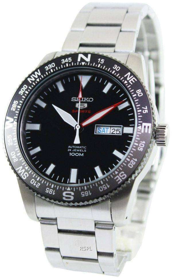 Seiko 5 Sports Automatic 24 Jewels 100M SRP669K1 SRP669K Mens Watch
