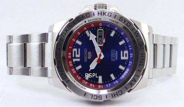 Seiko 5 Sports Automatic 24 Jewels 100M SRP681K1 SRP681K Mens Watch