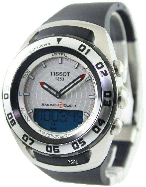 Tissot Sailing Touch Analog Digital T056.420.27.031.00 Mens Watch