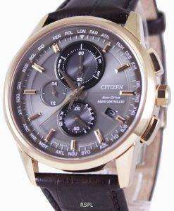 Citizen Eco-Drive Radio Controlled World Time AT8113-12H Mens Watch
