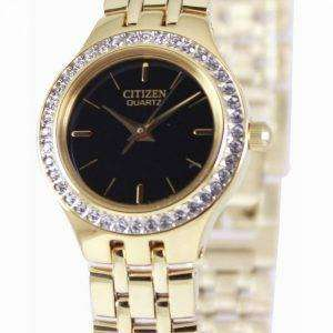 Citizen Quartz Swarovski Collection EJ6042-56E Womens Watch