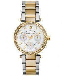 Michael Kors Mini Parker Crystals MK6055 Womens Watch
