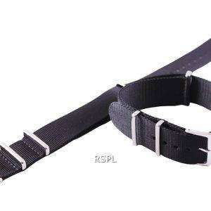 Black Nato Strap 22mm For SKX007, SKX009, SKX011, SRP497, SRP641