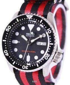 Seiko Automatic Divers 200M NATO Strap SKX007K1-NATO3 Mens Watch