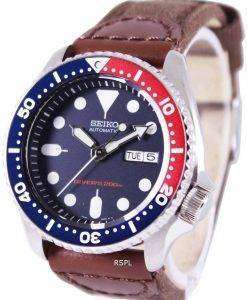 Seiko Automatic Divers Canvas Strap SKX009K1-NS1 200M Mens Watch