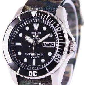 Seiko 5 Sports Automatic NATO Strap SNZF17K1-NATO5 Mens Watch