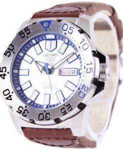 Seiko 5 Sports Automatic Canvas Strap SRP481K1-NS1 Mens Watch