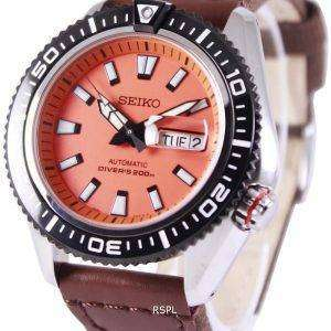 Seiko Superior Automatic Divers 200M Canvas Strap SRP497K1-NS1 Mens Watch