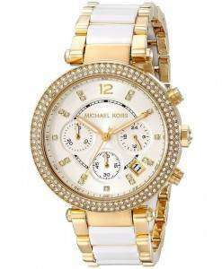 Michael Kors Parker Multi-function White Dial MK6119 Womens Watch