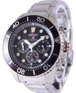 Seiko Solar Chronograph Divers SSC015P1 Mens Watch