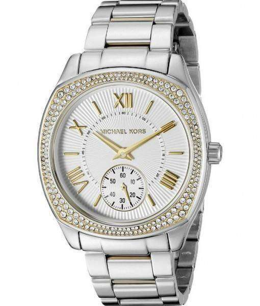 Michael Kors Bryn Two-Tone Crystals Accented MK6277 Womens Watch