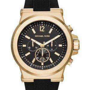 Michael Kors Dylan Black Dial Chronograph MK8445 Mens Watch