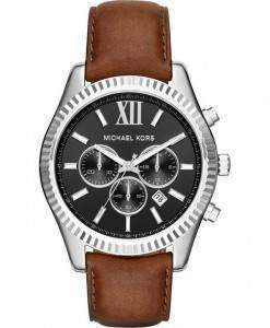 Michael Kors Lexington Black Dial Chronograph MK8456 Mens Watch