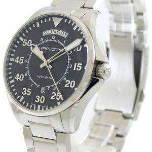 Hamilton Pilot Day Date Aviation Automatic H64615135 Mens Watch