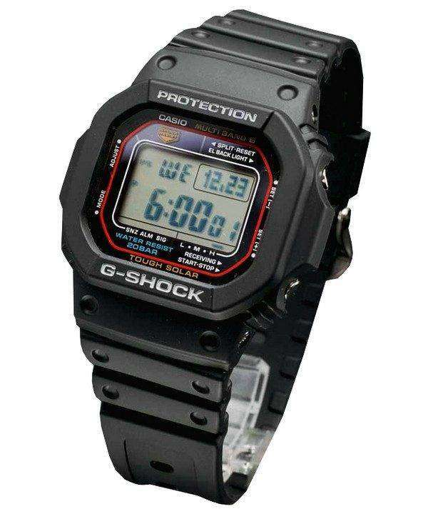 Casio G-Shock Tough Solar Multi-Band 6 GW-M5610-1JF Mens Watch