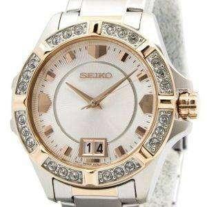 Seiko Lord Quartz Crystals White Dial SUR804P1 SUR804P Womens Watch