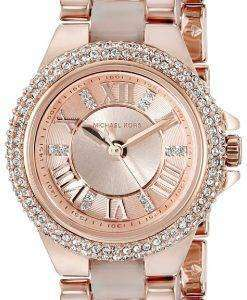 Michael Kors Petite Camille Rose Gold Tone Crystals MK4292 Women's Watch