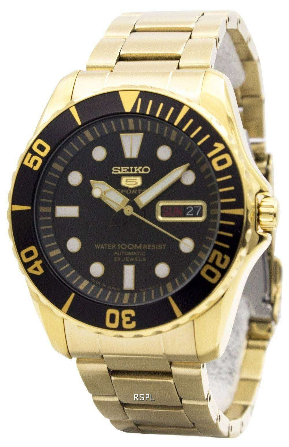 Seiko 5 Sports Automatic 23 Gem Made in Japan SNZF22J1 SNZF22J Men's Watch