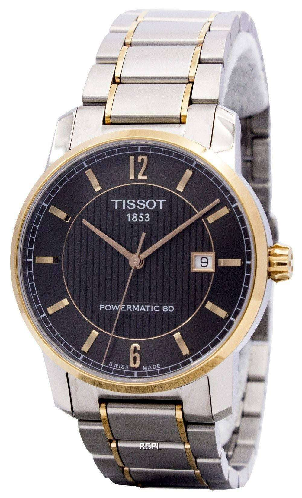 Tissot T-Classic Titanium Automatic T087.407.55.067.00 Mens Watch