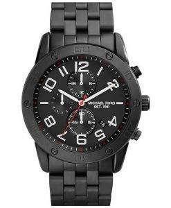 Michael Kors Mercer Chronograph Quartz Black Ion Plated MK8350 Mens Watch