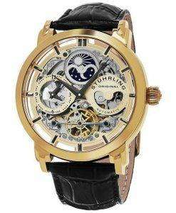 Stuhrling Original Legacy Anatol Automatic Dual Time Skeleton 371.02 Mens Watch