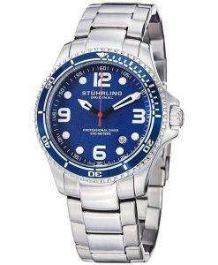 Stuhrling Original Aquadiver Specialty Grand Regatta Swiss Quartz HN593.33 Mens Watch