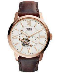 Fossil Townsman Automatic Skeleton ME3105 Mens Watch