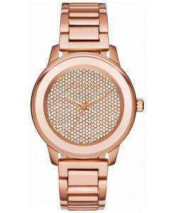 Michael Kors Kinley Quartz Crystal Pave Dial MK6210 Womens Watch
