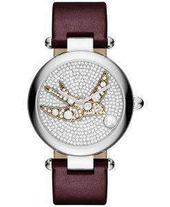 Marc Jacobs Dotty Crystal Pave Quartz MJ1488 Women's Watch