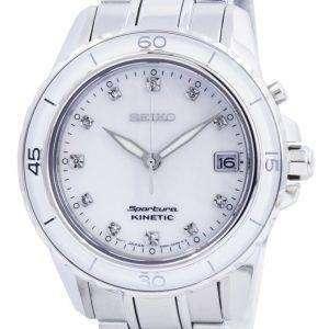 미터 세이 코 키네틱 다이아몬드 악센트 SKA881 SKA881P1 SKA881P 여자의 시계