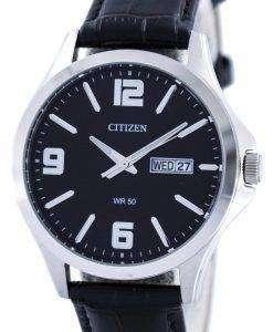 시민 쿼 츠 블랙 다이얼 BF2001-04E 남자의 시계